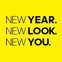 NEW YEAR. NEW LOOK. NEW YOU